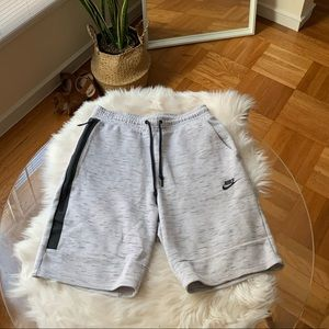 Light Grey Men's Nike Tech Shorts